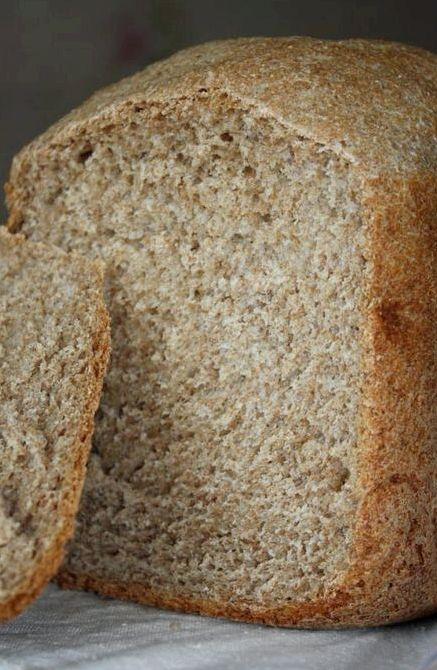 Рецепт хлеба цельнозернового для хлебопечки