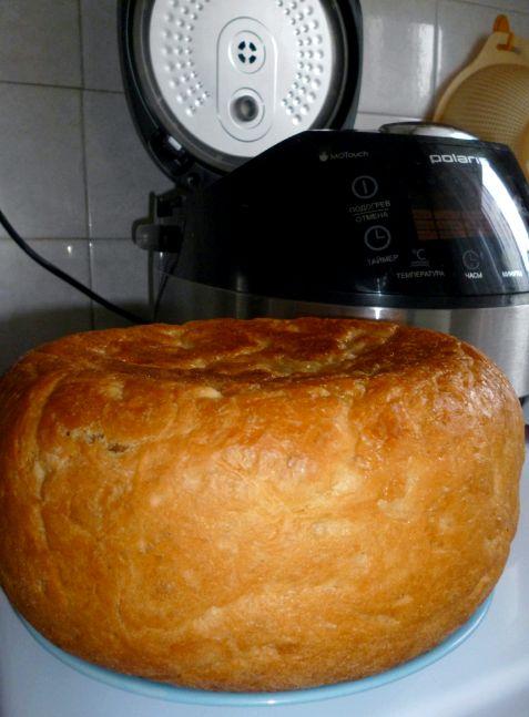 Рецепт хлеба в мультиварке поларис 0517
