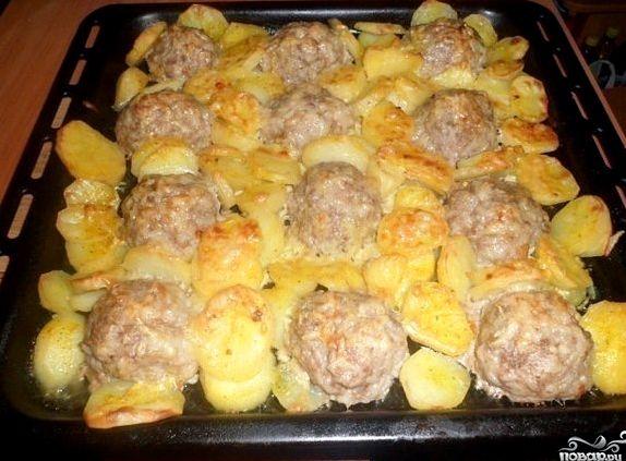 Рецепт котлеты с картошкой в духовке