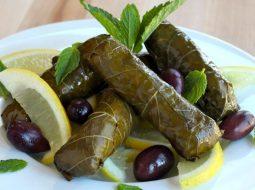 Рецепт маринования виноградных листьев для долмы