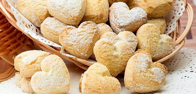 Рецепт песочного печенья на маргарине с фото
