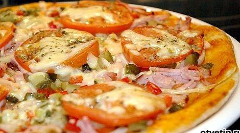 Рецепт пиццы без дрожжей для тонкого теста