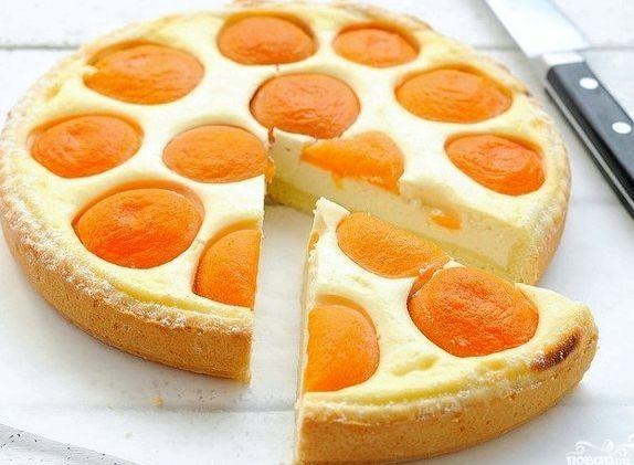 Рецепт пирога с абрикосами в мультиварке
