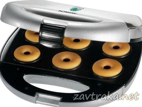 Рецепт пончиков для аппарата для пончиков