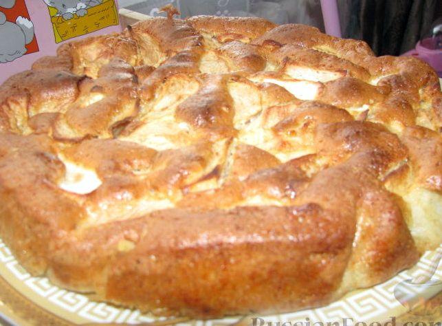 Рецепт приготовление шарлотки с яблоками