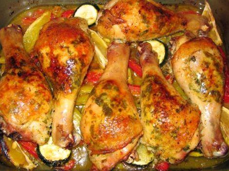 Рецепт приготовления голени куриной в духовке