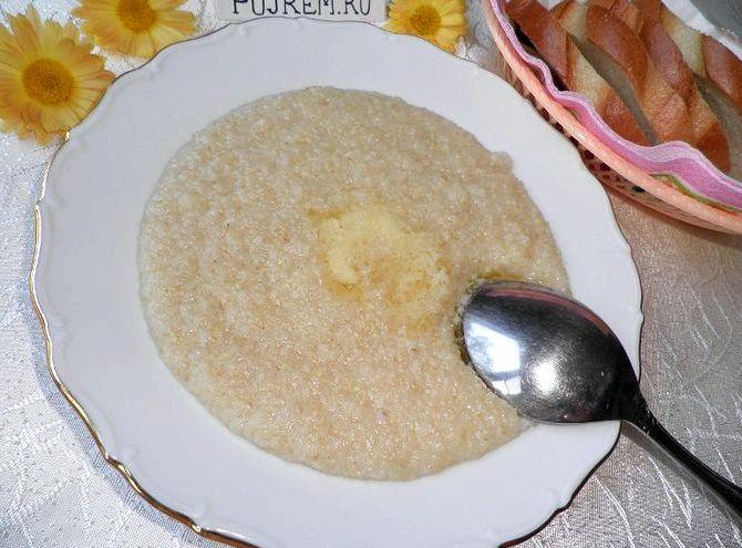 Рецепт приготовления пшеничной каши