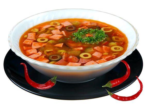 Рецепт приготовления солянка домашняя