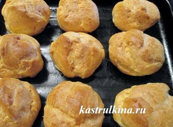 Рецепт приготовления вкусных эклеров со сгущенкой