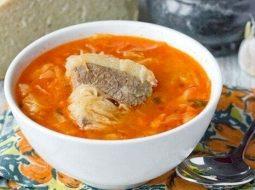 Рецепт щи с говядиной со свежей капустой