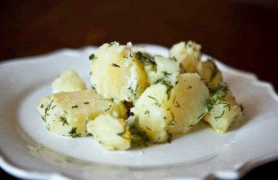 Рецепт старинной русской кухни картофель отварной