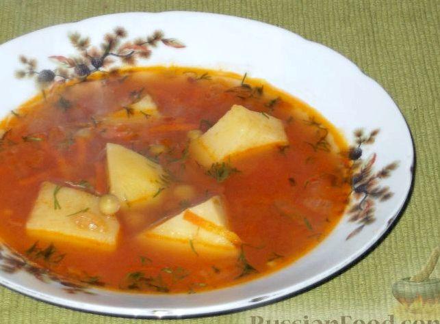 Рецепт суп с горошком зеленым консервированным