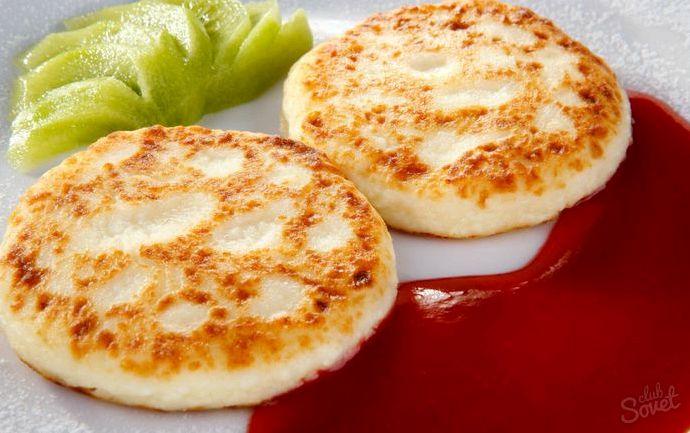 Рецепт сырников с манкой из творога с фото