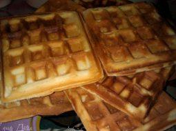 Рецепт вафли в электровафельнице венские