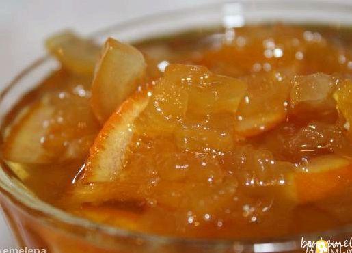 Рецепт варенья из кабачков с апельсином