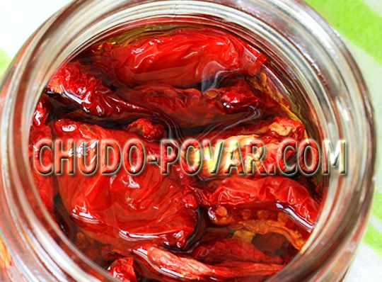 Рецепт вяленых помидоров в домашних условиях на зиму