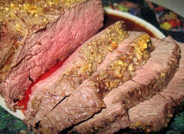 Рецепт запеченной в духовке говядины