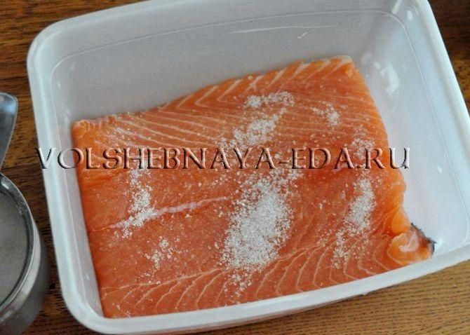 Рецепт засолка лосося в домашних условиях
