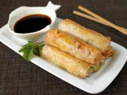 Рецепт жареные спринг роллы с креветками