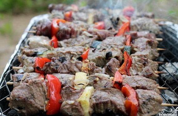 Рецепты шашлыка из говядины классический рецепт