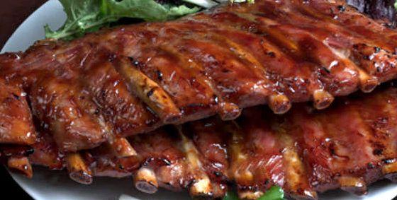 Рёбрышки свиные в духовке пошаговый рецепт с фото
