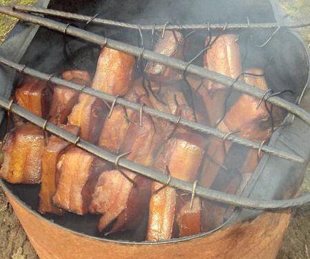 Рыба горячего копчения рецепт в коптильне