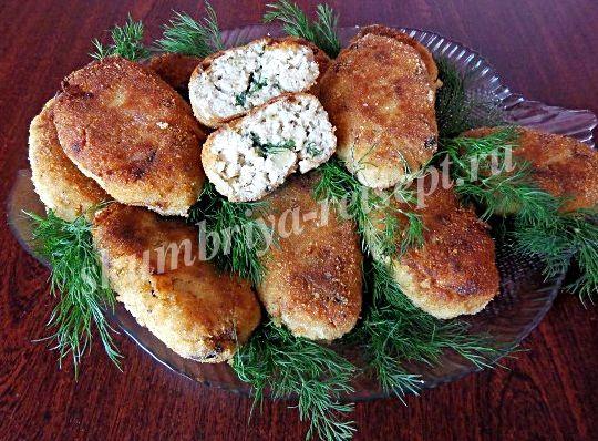 Рыбные котлеты с салом рецепт с фото пошагово