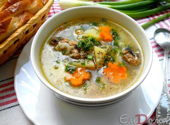 Рыбный суп из консервов рецепт с пшеном