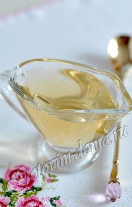 Сахарный сироп для пропитки бисквита рецепт