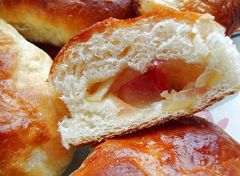 Сдобные булочки на кефире рецепт с фото