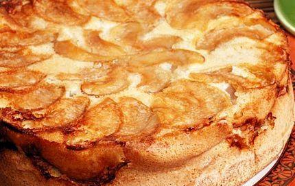 Шарлотка классическая с яблоками рецепт с фото