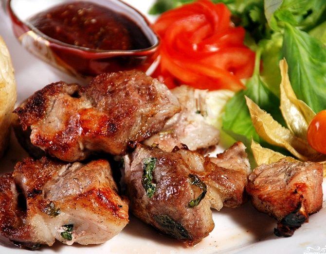 Шашлык из свинины рецепт по грузински