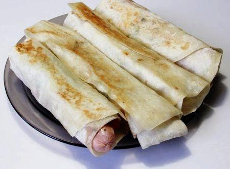 Шаурма в домашних условиях с сосиской рецепт с фото
