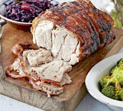 Шейка свиная запеченная в духовке в рукаве рецепт с фото