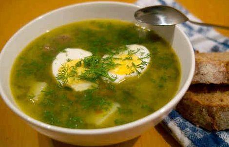 Щавелевый суп рецепт с яйцом и мясом