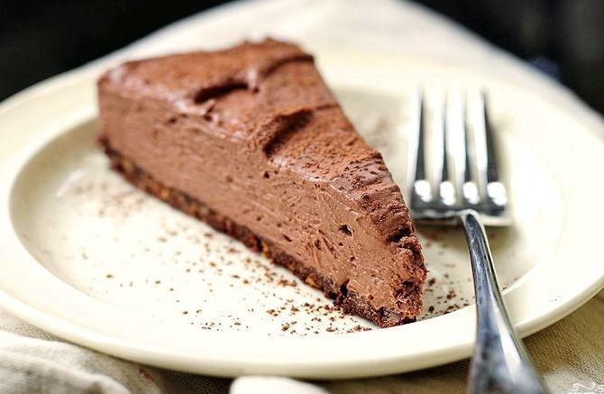 Шоколадный торт рецепт с фото без выпечки