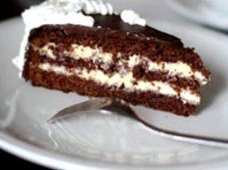 Шоколадный торт с заварным кремом рецепт с фото