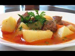 Шурпа из говядины рецепт с фото пошагово
