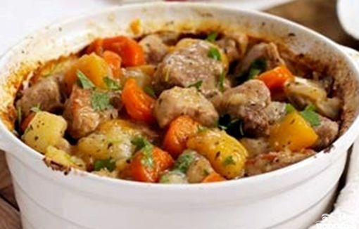 Соус со свининой и картошкой рецепт с фото
