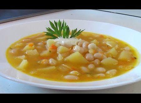 Суп из фасоли белой консервированной рецепт с фото
