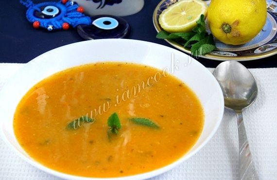 Суп из красной чечевицы турецкий рецепт