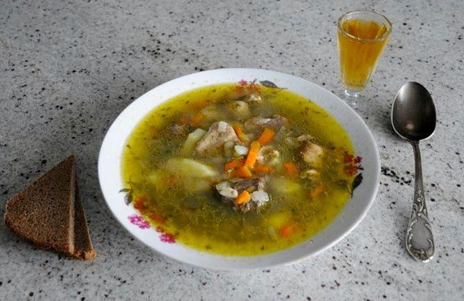 суп из куриных потрохов рецепт с фото нарцисс