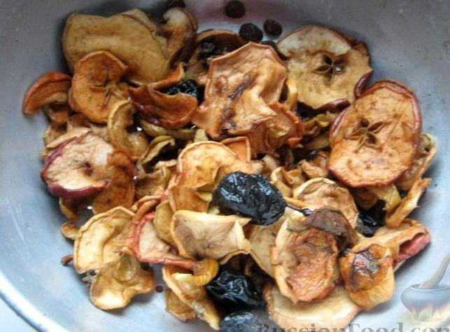 Сварить компот из сухофруктов рецепт