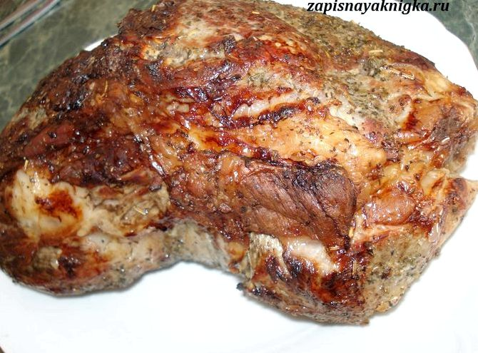 Свиная шейка в духовке с картошкой рецепт с фото