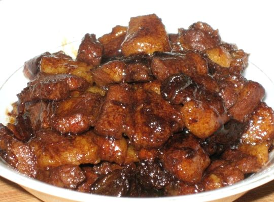 Свинина в соевом соусе на сковороде рецепт