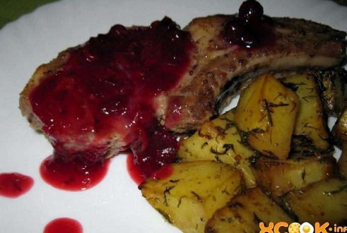 Свиной антрекот в духовке рецепт с фото