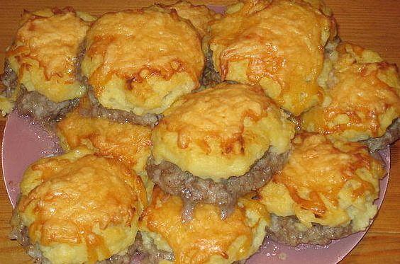 Тефтели с сыром в духовке рецепт с фото