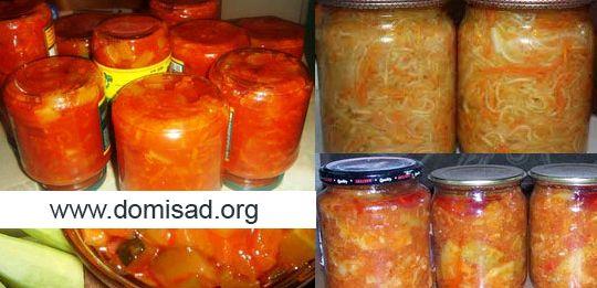 Тещин язык из кабачков на зиму рецепт с фото с томатной пастой