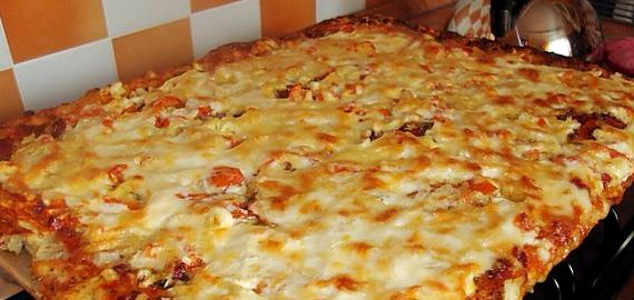 Тесто для пиццы в домашних условиях рецепт