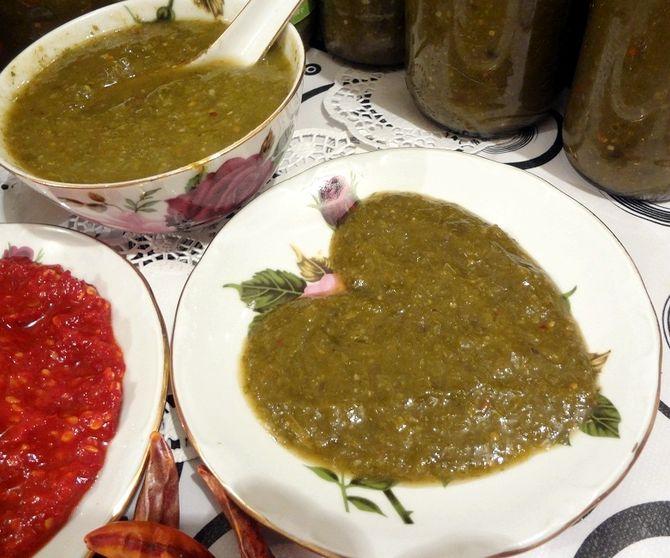 Ткемали из зеленой алычи на зиму грузинский рецепт